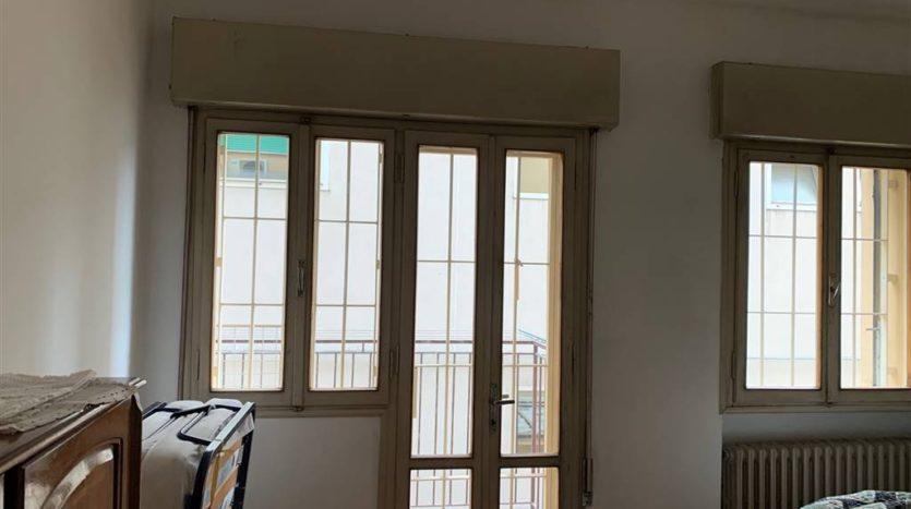finestre del soggiorno appartamento Mestre Centralissimo