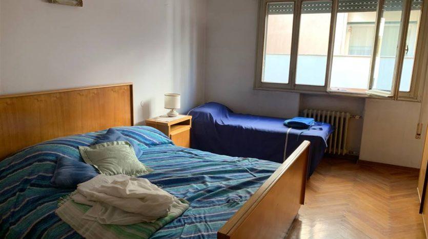 altra foto della seconda camera arredata dell'appartamento Mestre Centralissimo