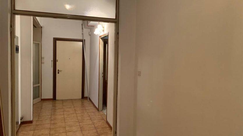Foto del reparto notte senza arredamento appartamento Mestre Centralissimo