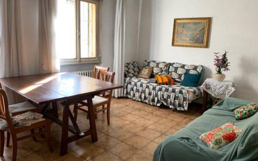 soggiorno zona divani appartamento Mestre Centralissimo